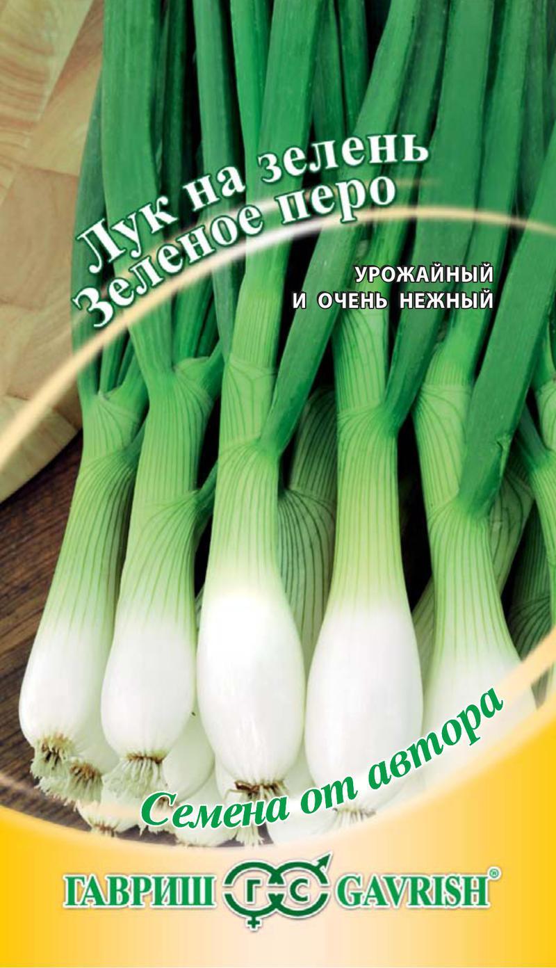 Лук на зелень Зеленое перо 0,5 г автор. Н11
