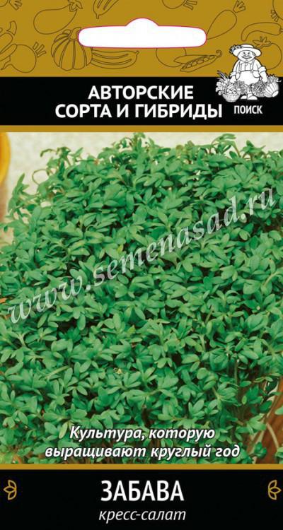 Кресс-салат Забава (А) (ЦВ) 1гр.
