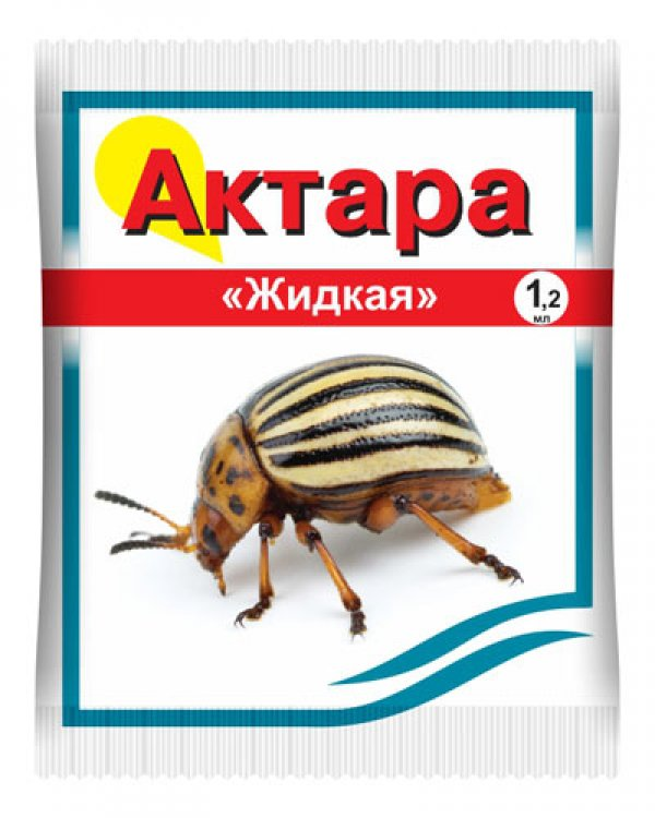 Актара пак.1,2мл (кор.200шт) Колорадский жук,тля,белокрылка,трипсы,щитовки