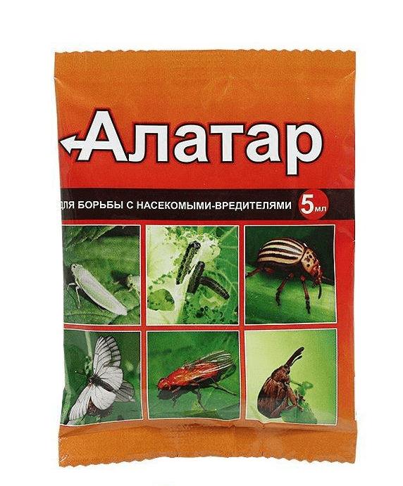Алатар 5мл, плодожорка,листовертка,луковая и морковная муха