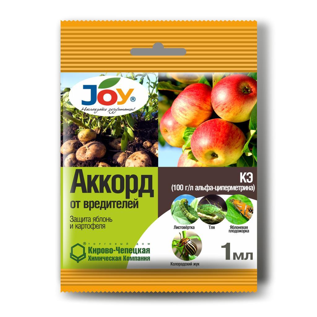 Аккорд, 1мл (кор.700шт, на листе 50шт) против колорадского жука