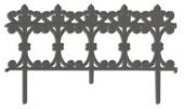 """Заборчик декор. """"Рококо"""" 3м (06-282)"""