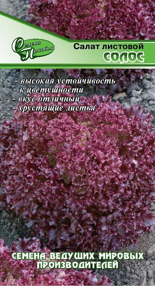 Салат Солос (тип Лолло Трипл ред) ф.п. 10др